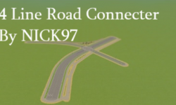 4 Line Road Connecter By NICK97